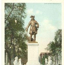 Image of 1121-057_1542 - OGLETHORPE MONUMENT, SAVANNAH, GA.
