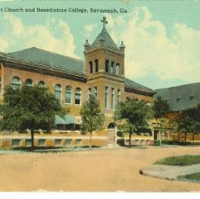 Image of 1121-057_1633 - Sacred Heart Church and Benedictine College, Savannah, Ga.