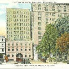 Image of 1121-057_1667 - PICTURE OF HOTEL SAVANNAH, SAVANNAH, GA.