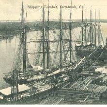 Image of 1121-057_1689 - Shipping Lumber, Savannah, Ga.