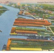 Image of 1121-057_1999 - Georgia State Port, Savannah, Ga.
