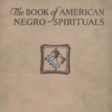 Image of M1670 .J67 - The book of American negro spirituals,