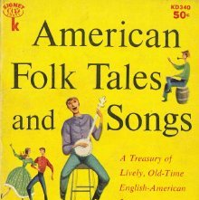 Image of GR105 .C38 - American folk tales and songs.