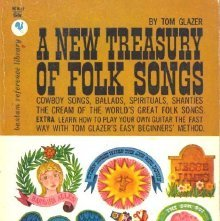 Image of M1627.G49 N5 - A new treasury of folk songs, with: An introduction to folk-guitar accompaniment for the beginner.