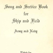 Image of M2117 .A792 - Song and service book for ship and field, Army and Navy.