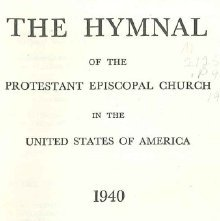 Image of M2125 .P94 1940 - The hymnal of the Protestant Episcopal Church in the United States of America, 1940.