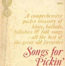 Image of M1977.C5 L49 - Songs for pickin' and singin'; an original Gold medal collection.