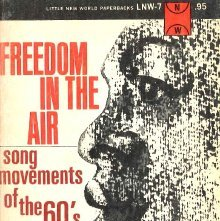 Image of ML3551 .D85 - Freedom in the air; song movements of the sixties.