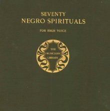 Image of M1670.F37 S5 - Seventy negro spirituals, for high voice;