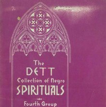 Image of M1670.D33 D3 - The Dett collection of negro spirituals.