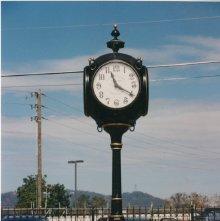 Image of 1121-100_1131 - Cumming, Georgia Town Clock