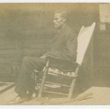 Image of 1121-100_1647 - Man in Rocking Chair