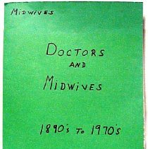 Image of History of the doctors and midwife's in Virgin Valley