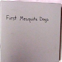 Image of First Mesquite Days