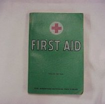 Image of First Aid handbook