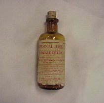 Image of Formaldehyde - Bottle