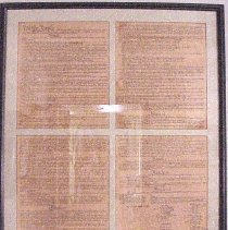 Image of United States Constitution - United States Constitution Bought at the War College Museum
