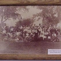 Image of Old Timer's Celebration - Held in Bunkerville in 1911 - Old Timer's Celebration - Held in Bunkerville in 1911  Current location of original unknown