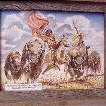 Image of Buffalo Hunt - Buffalo Hunt by Willis (Guearo) Wilson