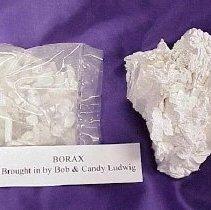 Image of Borax Samples