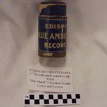 Image of Edison Phonograph Cylinder