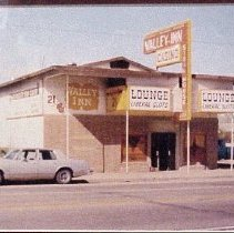 Image of Valley Inn - Valley Inn 1975, now Golden West Casino, previously Hughes & Frehner Store