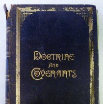 Image of Doctorine and Covenant Published in 1891
