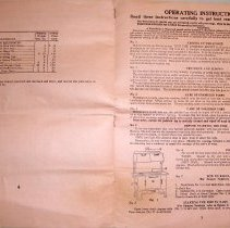 Image of Operation Instructions