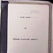 Image of Life Story of Thelma McKnight Abbott