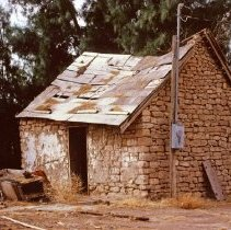 Image of Stone building circa 1880s - Picture of unknown stone building circa 1880s