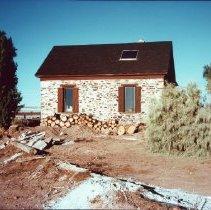 Image of Susan Hunt Home in Bunkerville - Picture of Susan Hunt Home in Bunkerville, listed on the National Register of Historic Places, Uncle Parley Hunt built the house for Grandma Susan Hunt