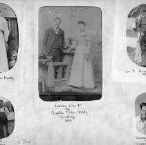 Image of Six pictures Hardy family - Six pictures Hardy family  Note Current location of original unknown