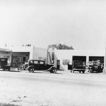 Image of Hughes Garage - 1948 - Hughes Garage - 1948 Virgin Valley's only complete farm equipment store