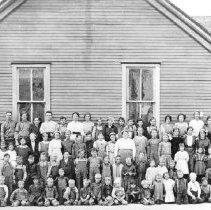 Image of Mesquite, Nevada school picture 1914 - Mesquite, Nevada school picture 1914