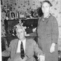 Image of William E. Abbott and Wife Mary Jane Leavitt - William E. Abbott and Wife Mary Jane Leavitt