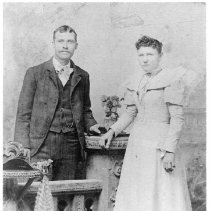 Image of Charles and Lorena Hardy - Charles and Lorena Hardy Came to Mesquite in 1894