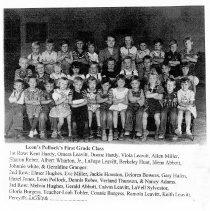 Image of First Grade Class of Leon Pollock - Picture of Leon Pollock's First grade class of  1952 Donated in memory of Albert Wharton Jr.