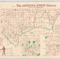 Topo Map Of The Arizona Strip Area