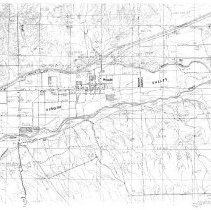 Image of 1985 map of Mesquite and Virgin Valley Topo
