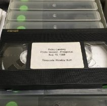 Image of Mi'kmaq interviews VHS tapes