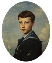 Image of PA.041 - Portrait of a Boy, Alexander Mercer King