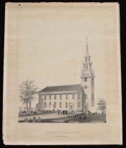 Image of PAP.WEBSTER.042 - Trinity Church, Newport, RI