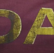 Image of Lettering detail 1