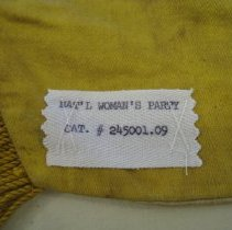 Image of Old sewn label
