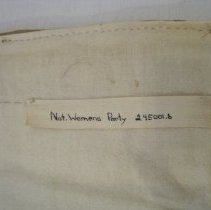 Image of Twill tape label