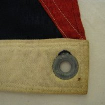 Image of Grommet and nail hole