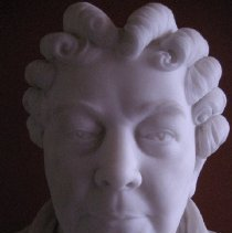 Image of Elizabeth Cady Stanton by A. Johnson, face detail