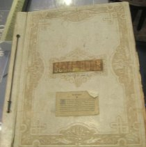 Image of scrapbook cover