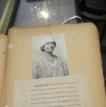 Image of Photo and bio of Mrs. Harvey W. Wiley