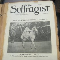 Image of The Suffragist cover